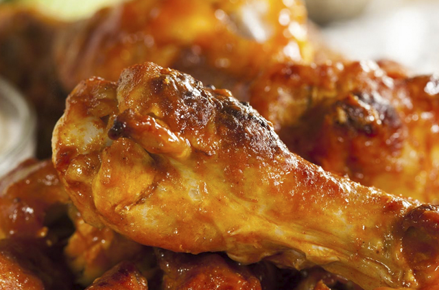 CHICKEN WITH HOT PEPPER SAUCE